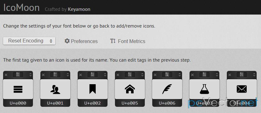 иконки для меню сайта: