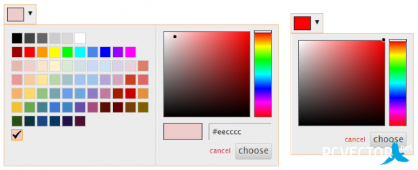 Spectrum � colorpicker ����� �����